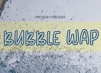 Bubble Wap Font