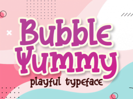 Bubble Yummy Font