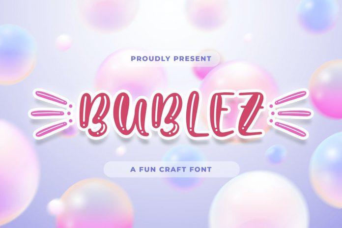 Bubblez - Fun Craft