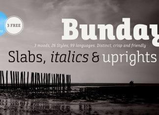 BundaySlab Font Family