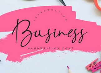 Business Font
