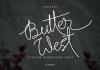 Butter West Font