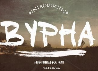 Bypha Font
