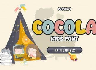 COCOLA - kids font