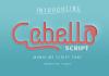 Cabello Script Font