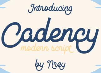 Cadency Font