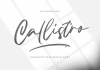 Callistro Font