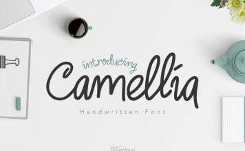 Camellia Handwritten Font