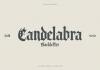 Candelabra Font