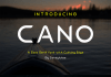 Cano - A Sans Serif Font with Cutting Edge
