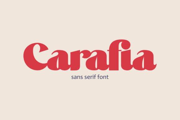 Carifia Font