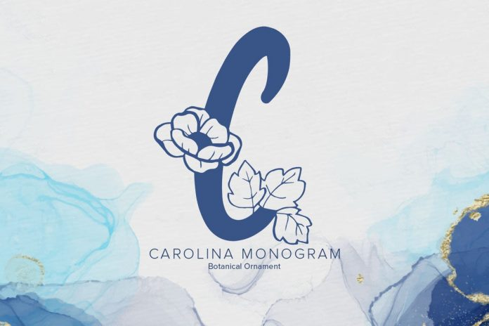 Carolina Monogram Font