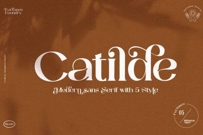 Catilde Modern Sans Serif