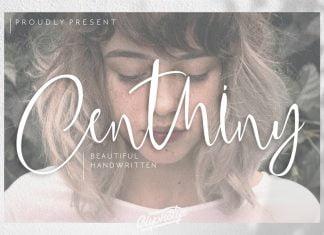 Centhiny - Beautiful Handwritten Font