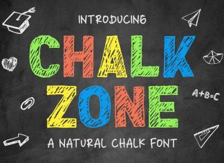 Chalk Zone Font