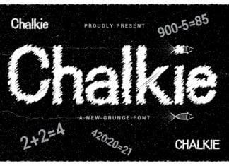 Chalkie Font