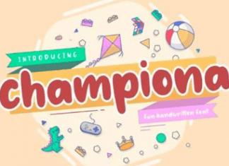 Championa Fun Handwritten Font