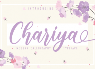 Chariya Font