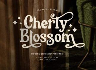 Cherly Blossom Font