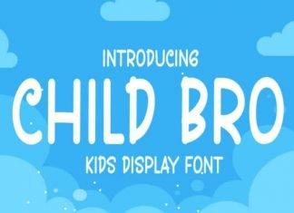Child Bro Font