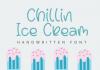 Chillin Ice Cream Font