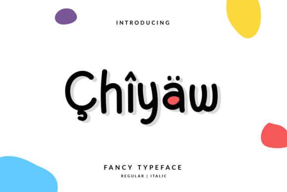 Chiyaw Font