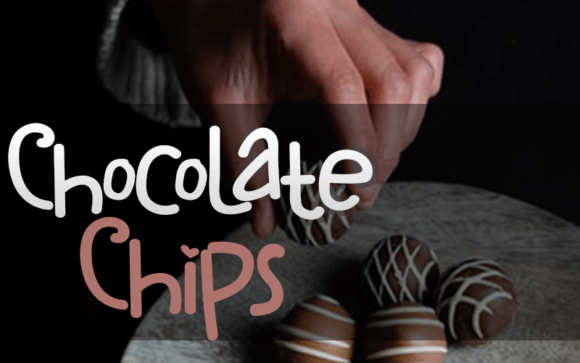 Chocolate Chips Font