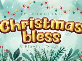 Christmas Bless Font