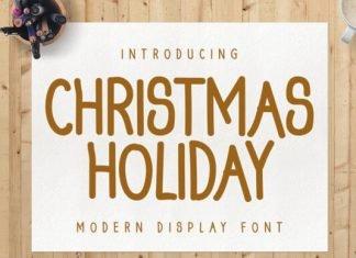 Christmas Holiday Font