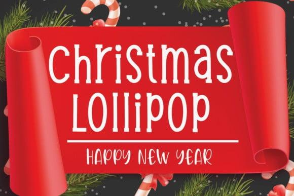 Christmas Light Font