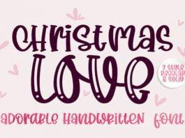 Christmas Love Font