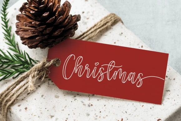 Christmas Melody Font