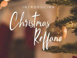 Christmas Reffano Font