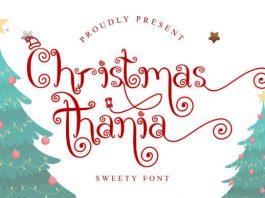 Christmas Thania Font