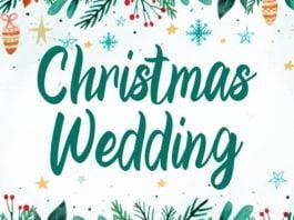 Christmas Wedding Font