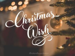 Christmas Wish Font