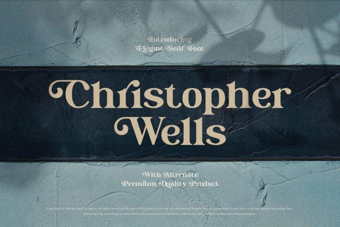 Christopher Wells - Elegant Serif Font