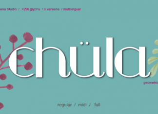 Chula Font Family