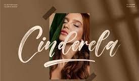 Cinderela - Premium Brush Font