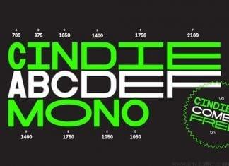 Cindie Mono Font
