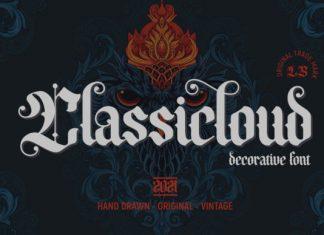 Classicloud Font
