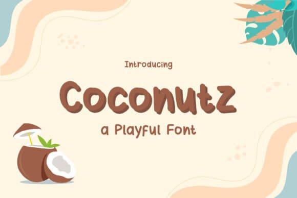Coconutz Font