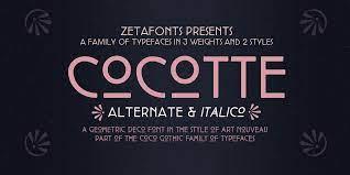Cocotte Font