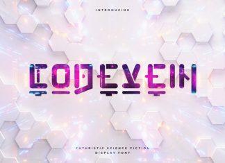 Codevein - Futuristic Technology Typeface Font