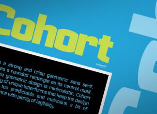 Cohort Font