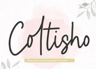 Coltisho YH - Handwritten Font
