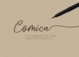 Comica Script Font