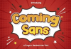 Coming Sans Font