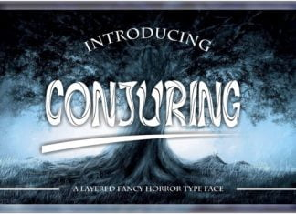 Conjuring Font