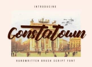Constatown Font